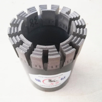Wireline Impregnated Diamond Core PQ, HQ, NQ, BQ, AQType Bits for Drilling