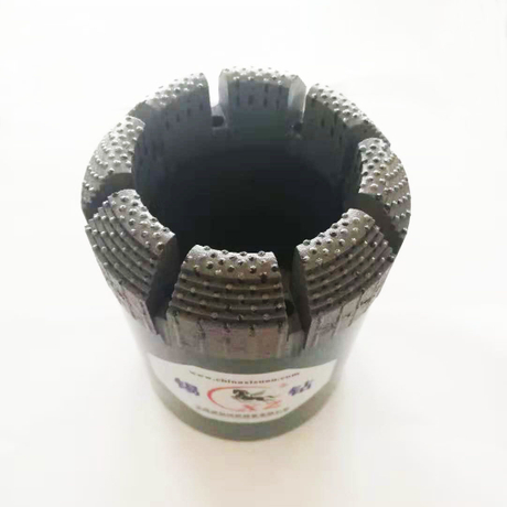 BQ NQ HQ PQ Surface Set Polycrystalline Diamond Core Drill Bits