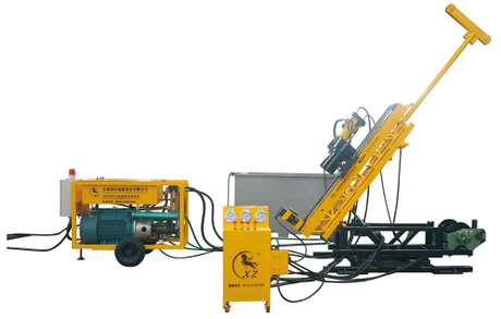 XZKD95-3, Full Hydaulic Underground Drilling Rig, Mineral Exploration, Geoligical